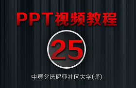 PowerPoint教程(25/38)-[插入视频文件]