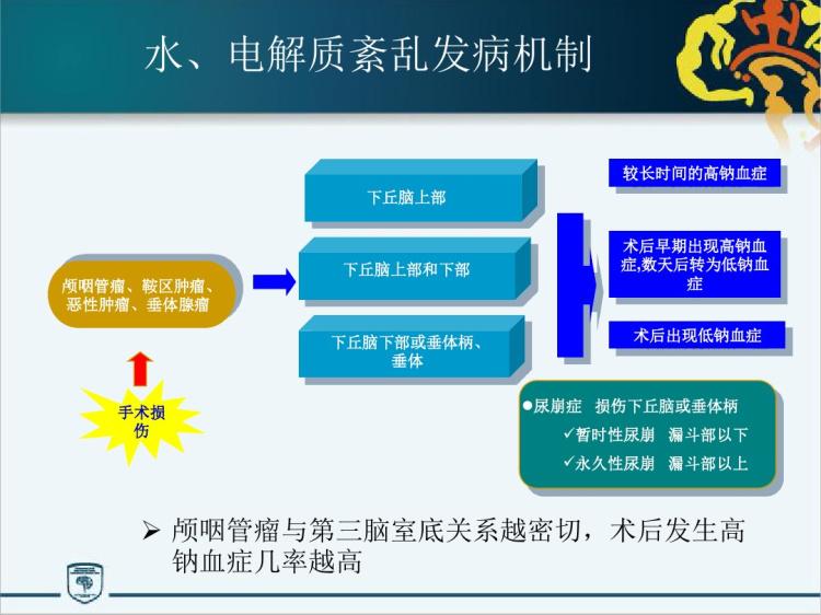 颅咽管瘤围手术期水电解质酸碱代谢失衡病人护理紊乱处理原则PPT