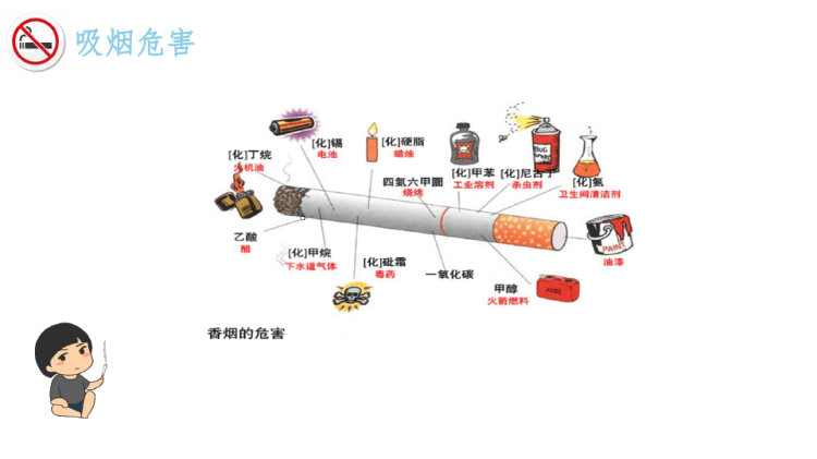 世界无烟日PPT
