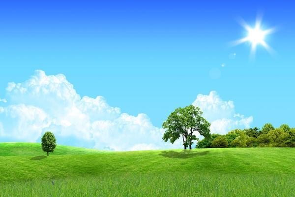 韩国风景PPT背景图片