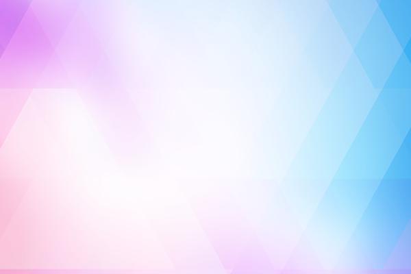 彩色朦胧多边形幻灯片背景图片