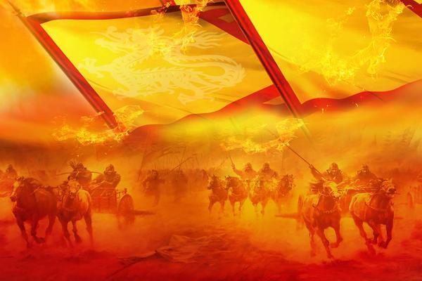 古代战场PPT背景图片