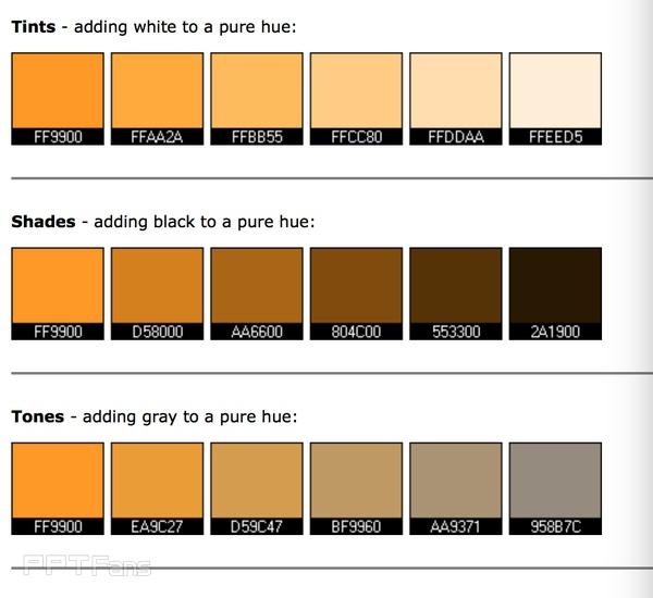 PPT怎么样的配色会令人觉得舒服?-31