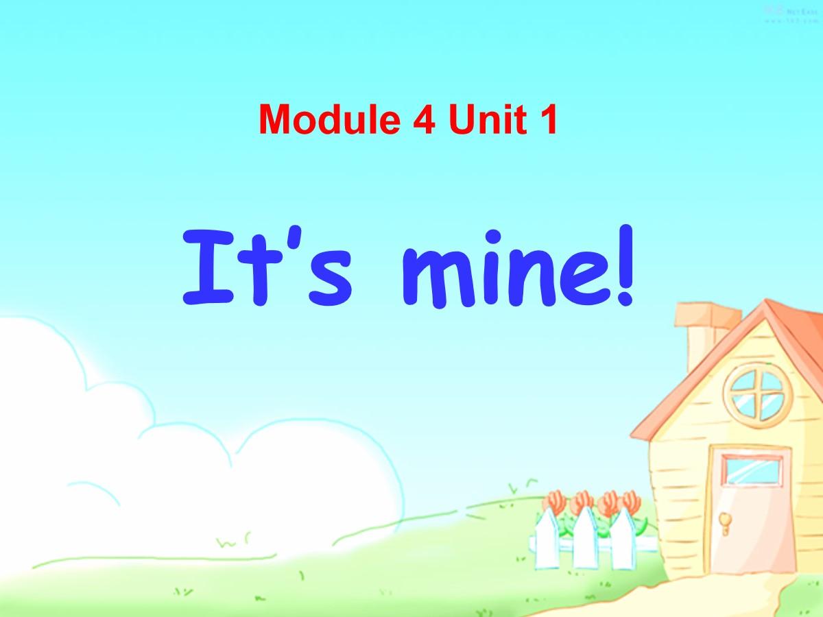《It's mine!》PPT课件4
