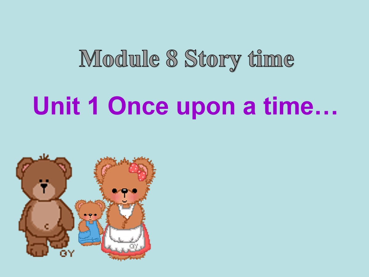 《Once upon a time》Story time PPT课件3