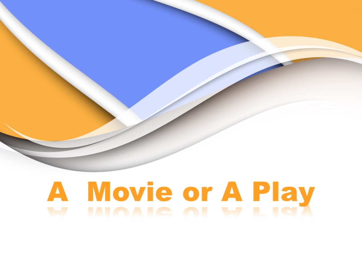 《A movie or a Play》Movies and Theatre PPT