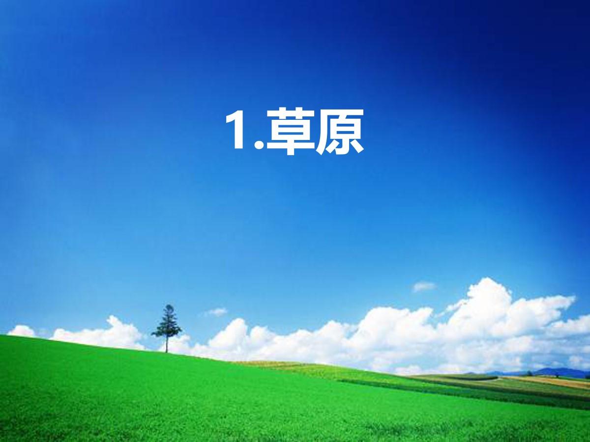 《草原》PPT