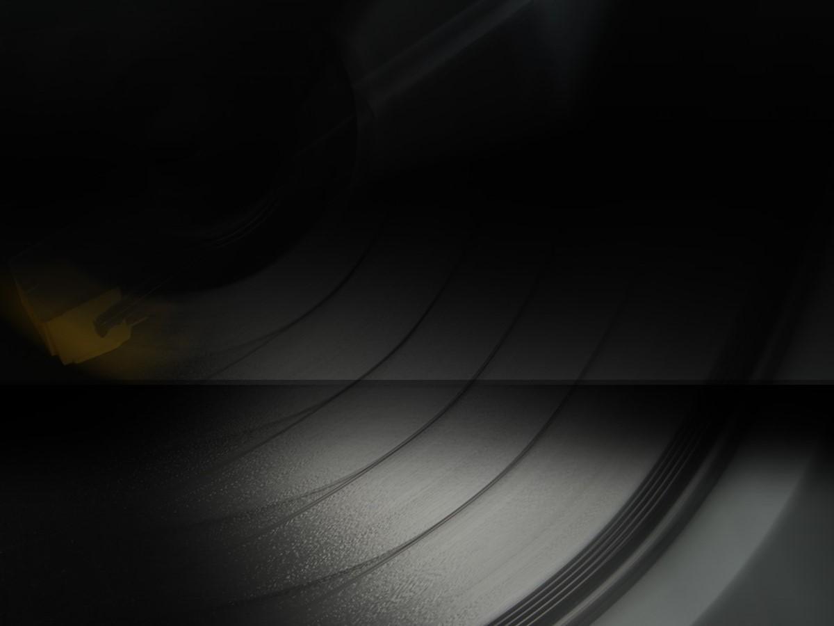 个性唱片背景音乐课件PPT模板