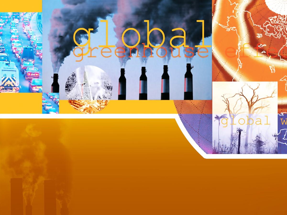 全球变暖温室效应PPT模板