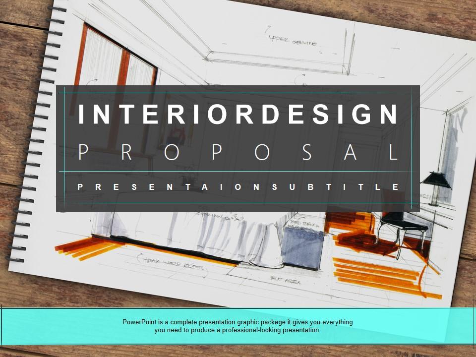 简约扁平化大气欧美风建筑装修装饰公司介绍与宣传PPT模板