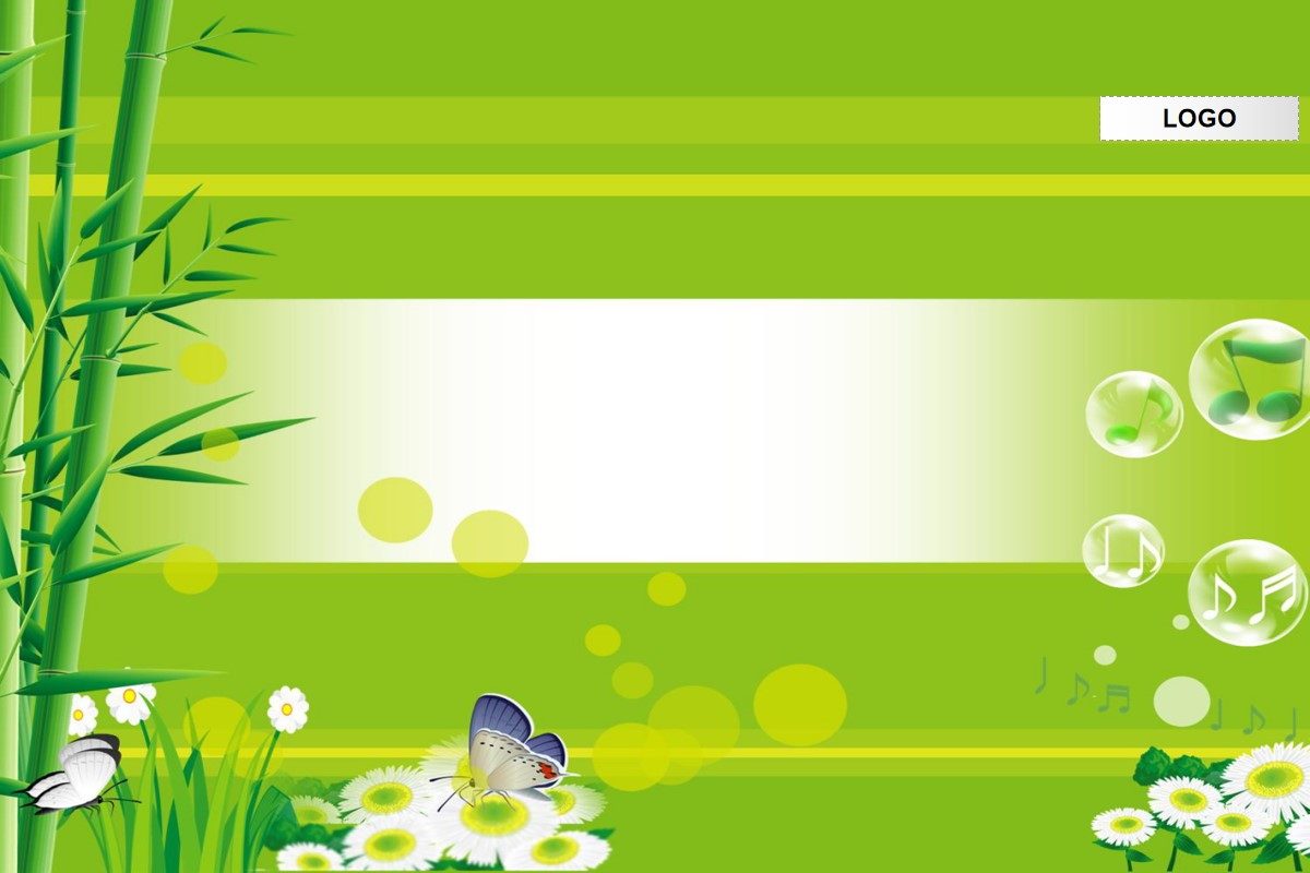 竹林背景春季PPT模板