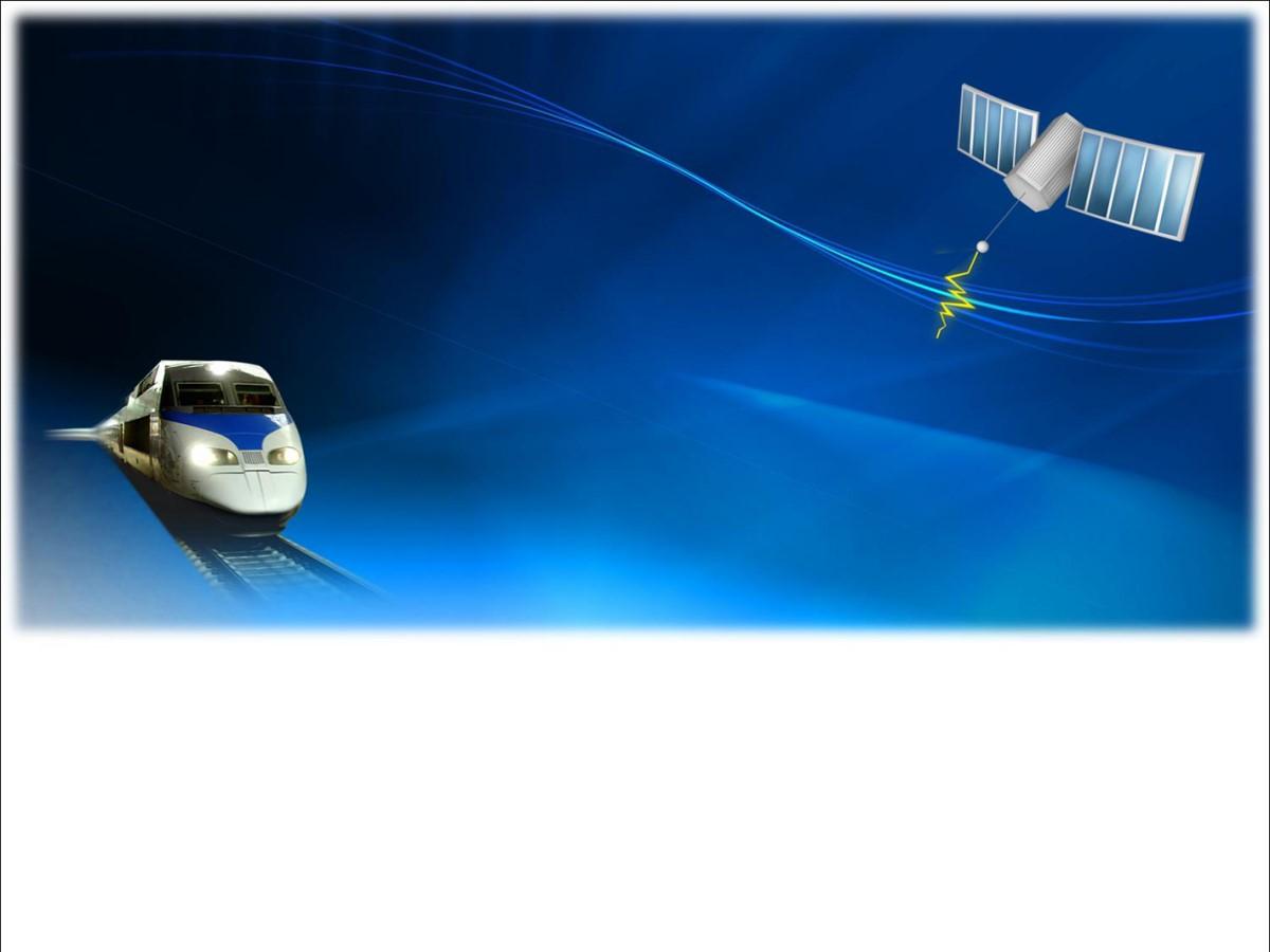 和谐号背景交通工具PPT模板