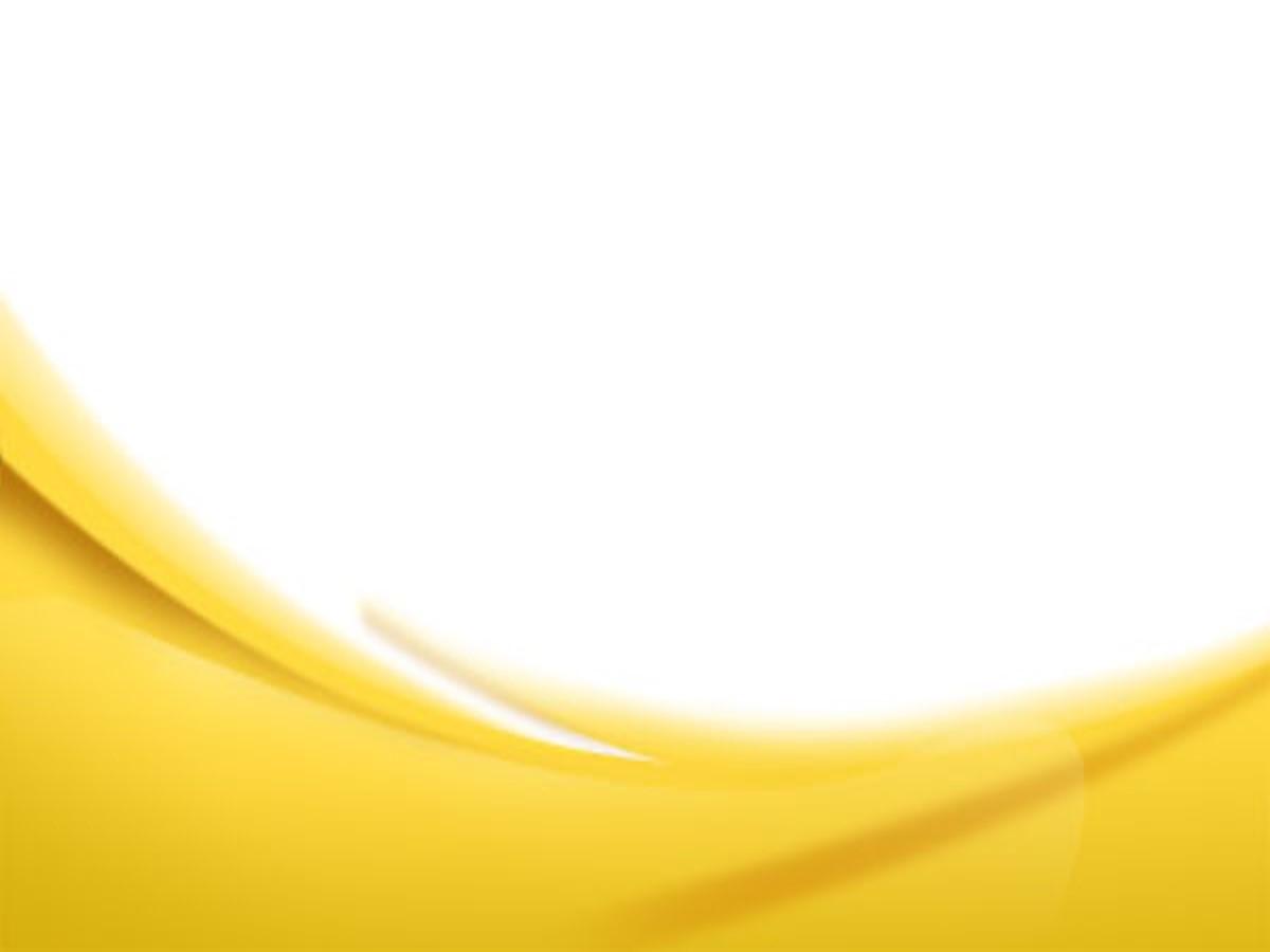 黄色柔光背景简洁简约PPT模板