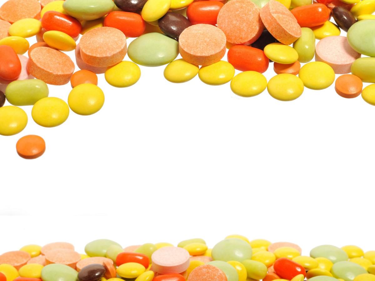 药片药品背景医学医疗PPT模板