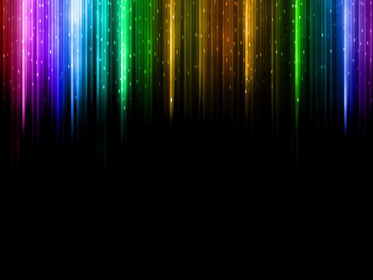 彩色炫丽幻艺术灯片模板