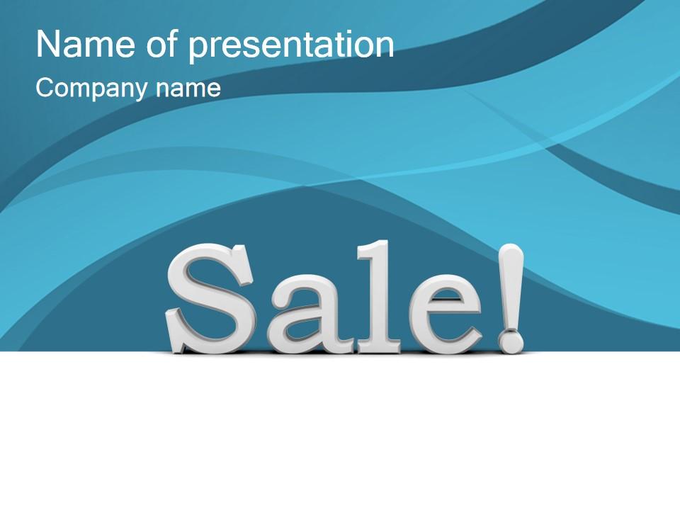 商场销售促销专用简约PPT模板