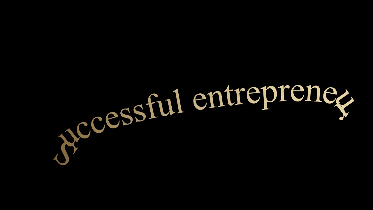 大气时尚成功企业家人物传记演讲PPT模板