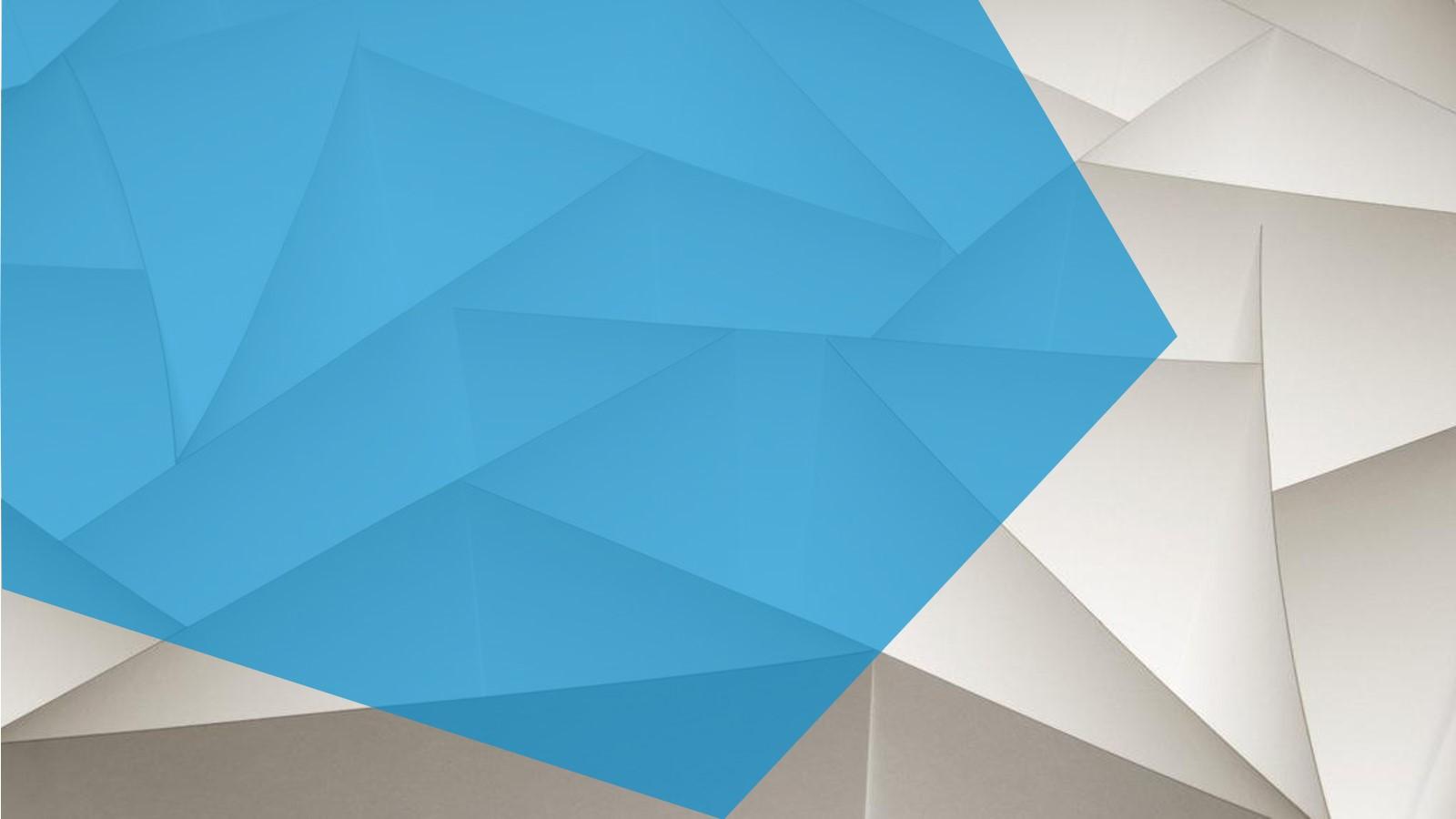 艺术多边形PPT背景图片