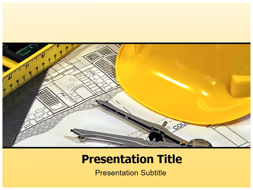 建筑设计PPT模板