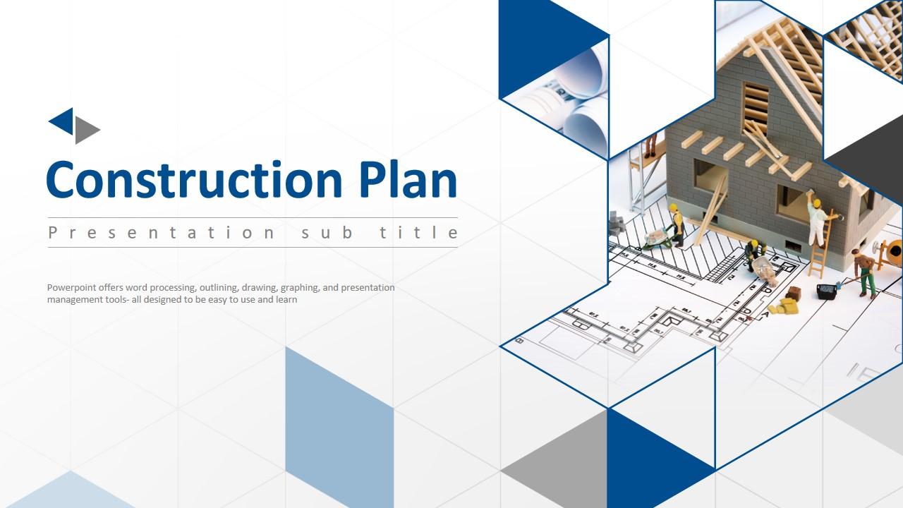 建筑设计公司产品及市场运营情况介绍PPT模板