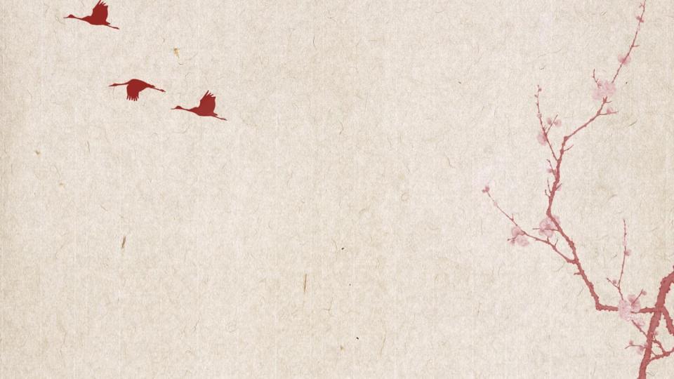 古典唯美艺术花卉PPT模板