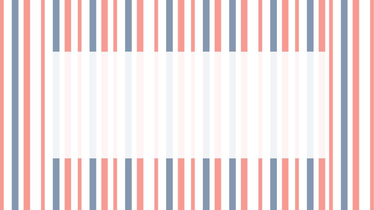 简洁蓝橙条纹通用商务PPT模板