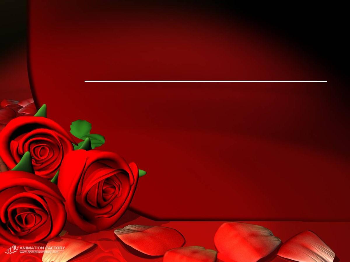 红玫瑰爱情PPT背景图片
