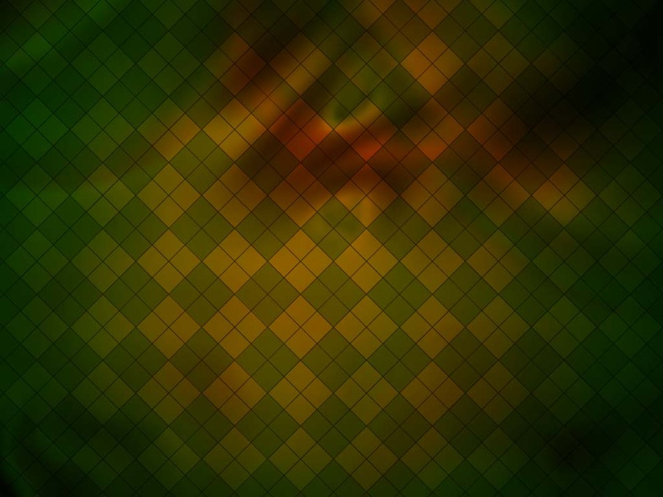 绿色方格PPT背景模板
