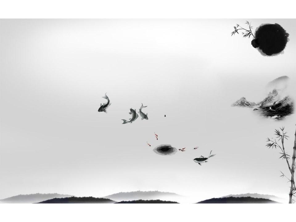 11张中国风水墨背景图片打包下载