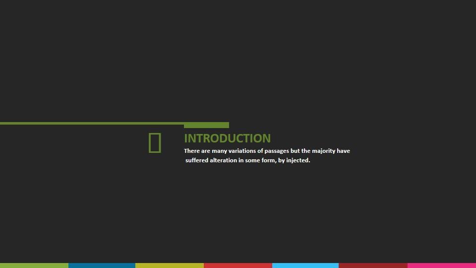 最佳商业PowerPoint模板(黑色)