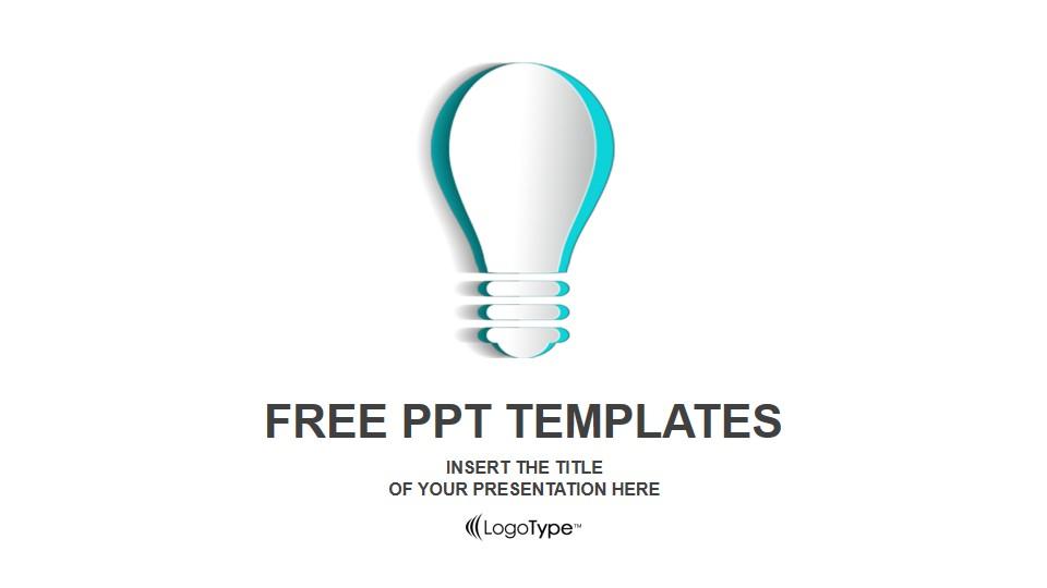 刻纸式创意商务PPT模板