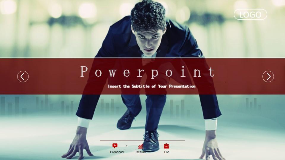 业务起点PowerPoint模板