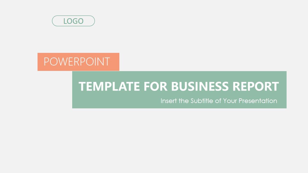简洁英文气企业商业计划汇报通用PPT模板