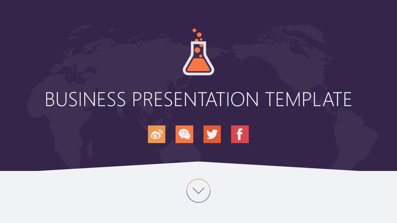 商务展览PowerPoint模板