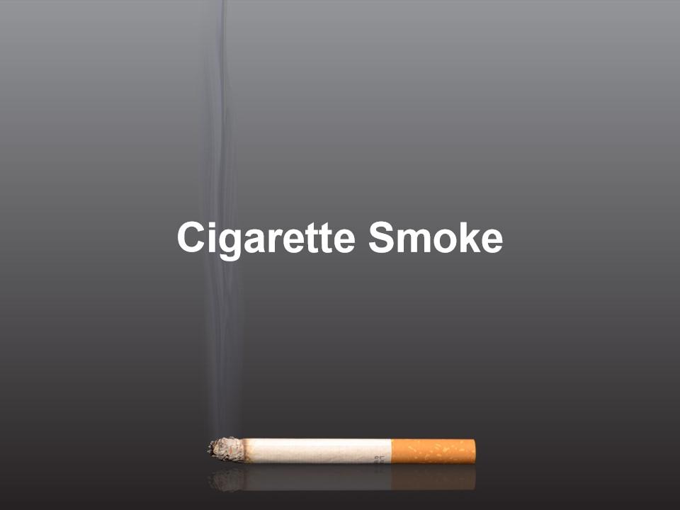 香烟烟雾模板
