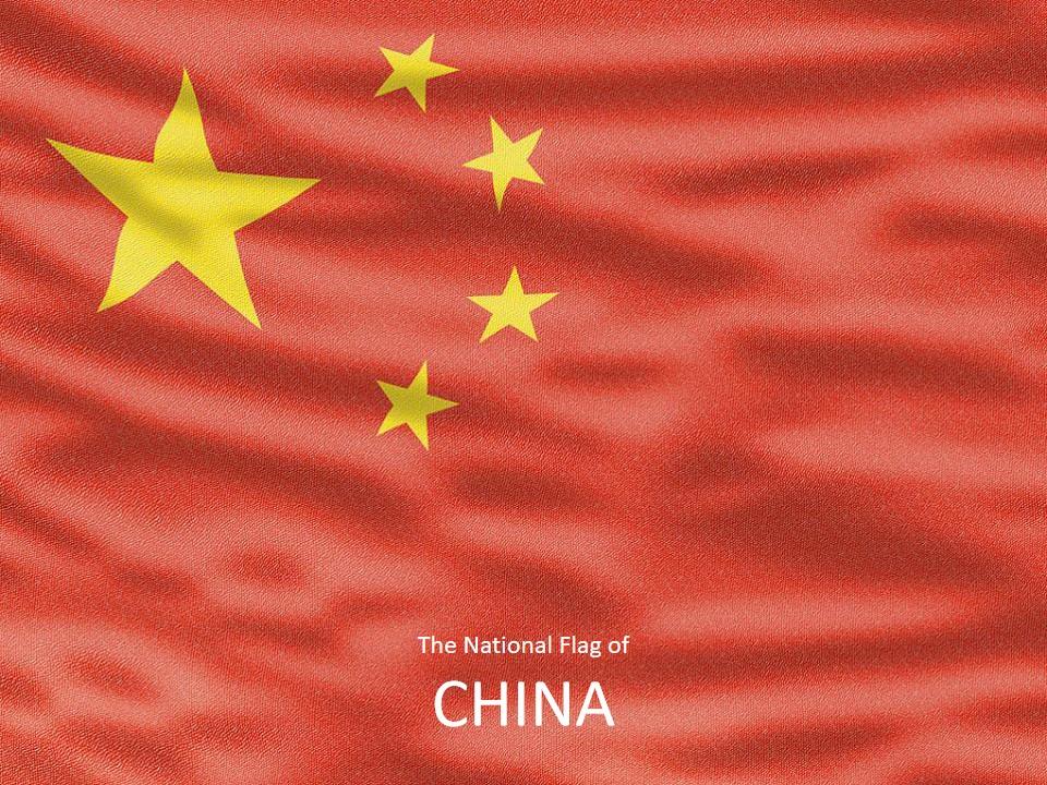 中国国旗模板