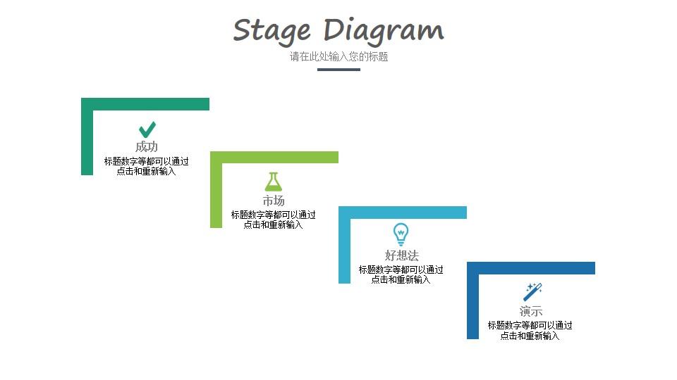 阶段性检查PPT模板素材