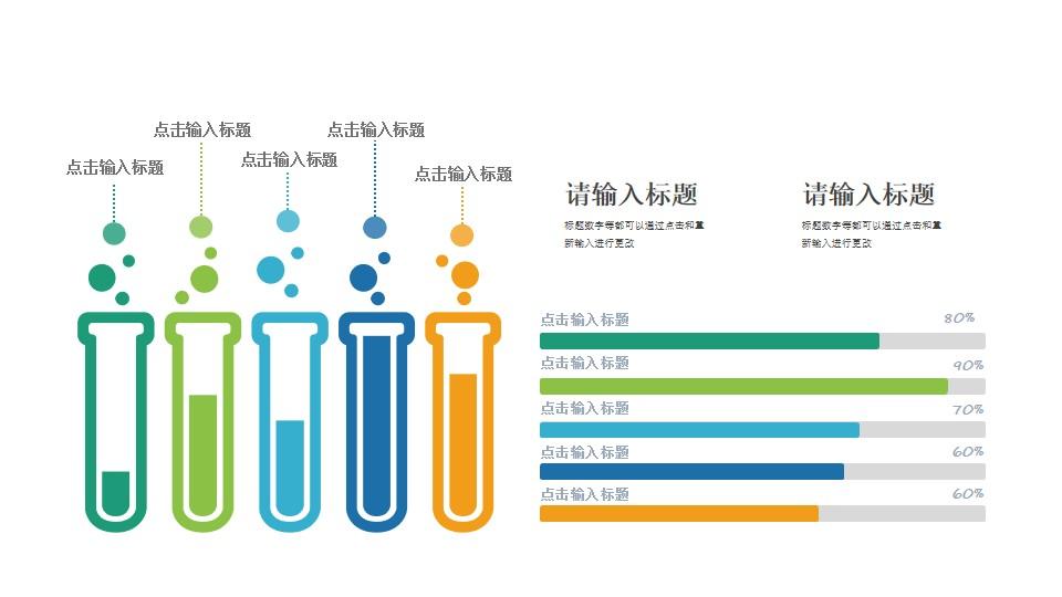 生物实验分析报告PPT素材