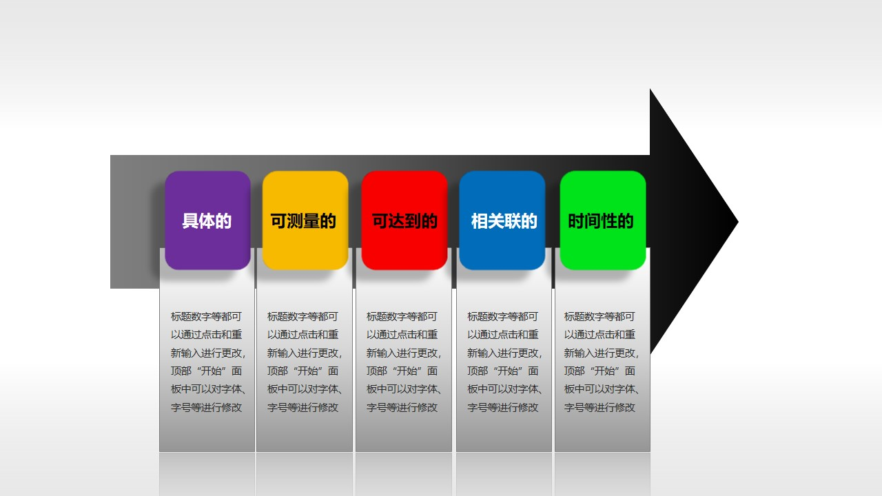 SMART原则(系列-04)PPT模板
